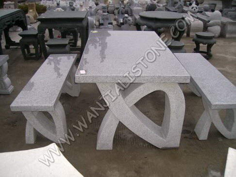 GRANITE DESK AND CHAIR|TABL083|welcome To Visit Our Website To Choose Marble  Table,marble Chair,marble Desk,garden Ornaments, Garden Decoration,stone  Table, ...